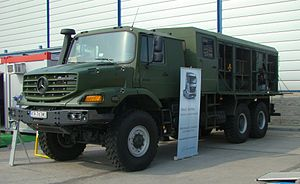 Mercedes-Benz Zetros - Zetros 2733 at the International Defence Industry Exhibition 2012