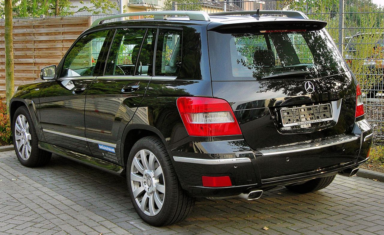 file mercedes glk 220 cdi blueefficiency rear wikimedia commons. Black Bedroom Furniture Sets. Home Design Ideas