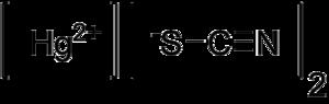 Mercury(II) thiocyanate