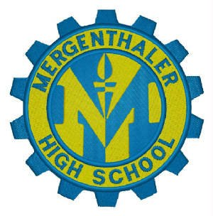 Mergenthaler Vocational-Technical High School - Image: Mervo Crest