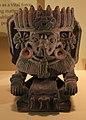 Messico, zapotec, urna ceramica con ritratto di cocijo, dallo stato di oxaca, 200-800 dc ca. 04.jpg