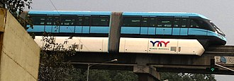 Scomi SUTRA - SUTRA's first user, the Mumbai Monorail