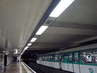 Saint-Denis – Porte de Paris (Paris Métro) - Image: Metro Porte de Paris