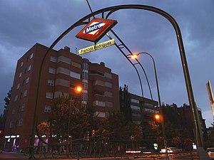 Metro de Madrid - Francos Rodr%C3%ADguez 01