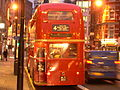 Metroline showbus Routemaster RML903 (WLT 903) route 4 special journey, 23 December 2005.jpg