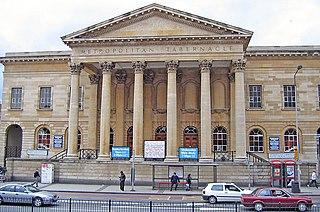 Metropolitan Tabernacle Church in London