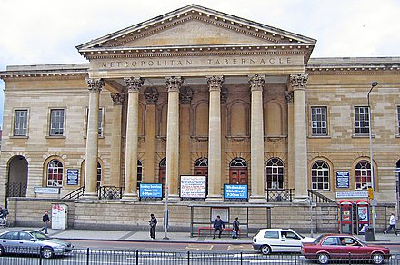 Baptist Metropolitan Tabernacle, in London