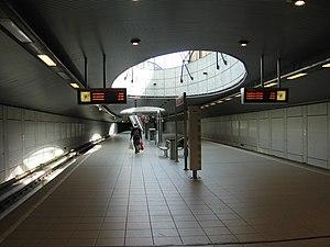 Parkweg metro station - Image: Metrostation Parkweg