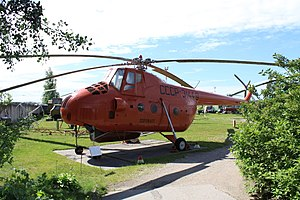 Mil Mi-4 - MI-4 in Riga aviation museum