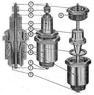 Mica spark plug (Manual of Driving and Mainten...