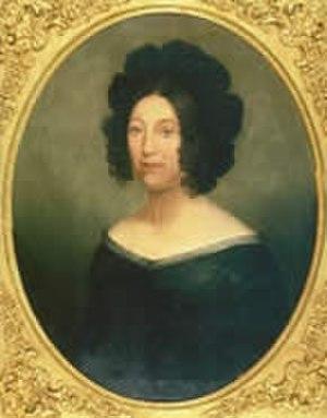 Micaela Almonester, Baroness de Pontalba - Portrait of Micaela Almonester, Baroness de Pontalba in the Louisiana State Museum