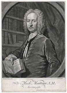 Michel Maittaire French classical scholar