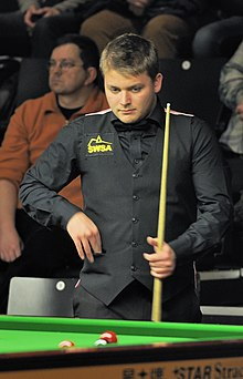 Michael White at Snooker German Masters (Martin Rulsch) 2014-01-29 01.jpg