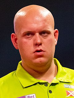 Michael van Gerwen Dutch darts player
