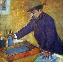 Michel Manzi by Edgar Degas circa 1889.png