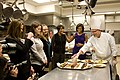 Michelle Obama in the White House kitchen.jpg