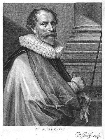 Michiel Jansz Mierevelt, by Willem Jacobsz Delff