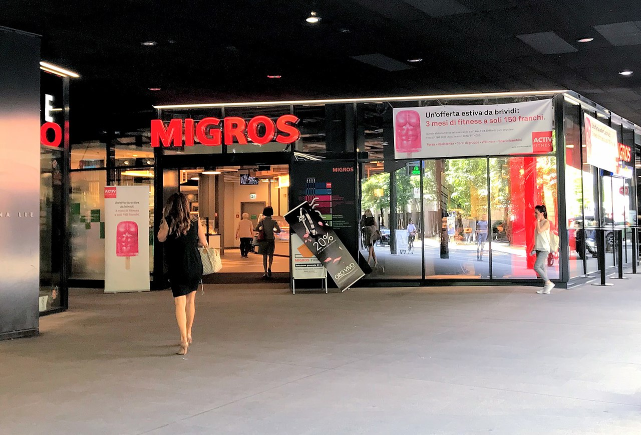 Migros supermarket Lugano Switzerland.jpg