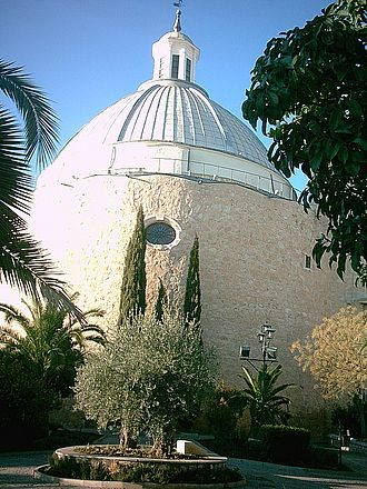 "Miguelturra - Hermitage of Santísimo Cristo de la Misericordia  (popularly known as ""Fat Tower"")"