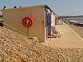 Milford on Sea, beach huts and lifebuoy - geograph.org.uk - 1249230.jpg