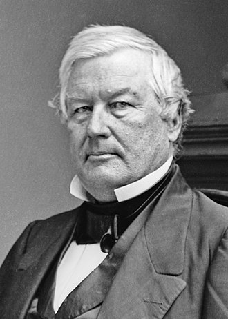 1856 United States presidential election in California - Image: Millard Fillmore by Brady Studio 1855 65 crop