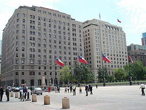 Ministerio De Relaciones Exteriores Chile Wikipedia La Enciclopedia Libre