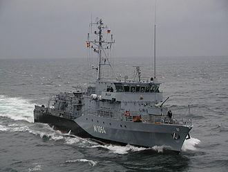 Frankenthal-class minehunter - Image: Minenjagdboot Grömitz