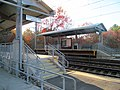 Mini-high platforms at Sharon station, November 2016.JPG