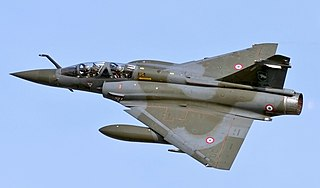 Dassault Mirage 2000N/2000D nuclear strike aircraft