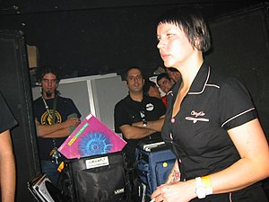 Miss Kittin 2004 at Razzmatazz, Barcelona.jpg