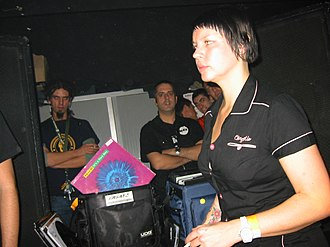 Miss Kittin - Miss Kittin at Razzmatazz in Barcelona, 2004
