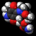 Mitomycin molecule spacefill.png
