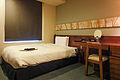 Mitsui Garden Hotel Sendai Standard Single B bedroom 20100809-001.jpg