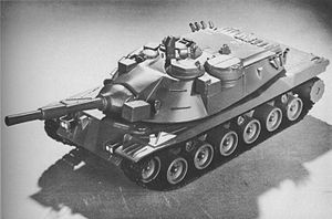 Model of the final design MBT-70.JPG