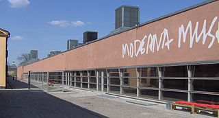 Moderna Museet Art museum in Stockholm, Sweden