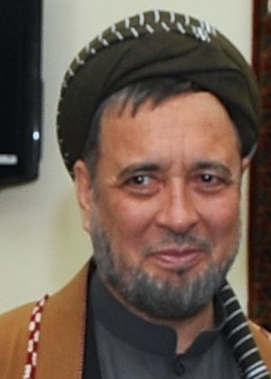 Afghan parliamentary election, 2010 - Image: Mohaqiq in July 2014