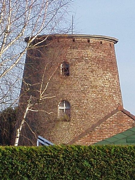 Molen Iddergemsesteenweg Denderhoutem