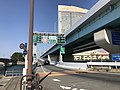 Momochi Entrance of Fukuoka Expressway Circle Route.jpg