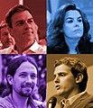 Montaje fotográfico de los participantes en el debate a cuatro de Atresmedia (2015).jpg