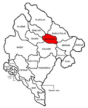 Mojkovac Municipality - Image: Montenegro Mojkovac