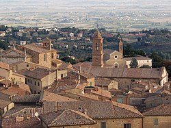 Panorama of Montepulciano