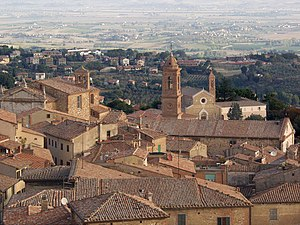 Montepulciano - Panorama of Montepulciano