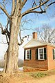 Monticello north pavilion - home of US President Thomas Jefferson - near Charlottesville, Virginia - panoramio (1).jpg