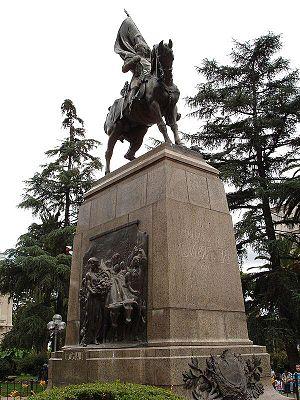 San Salvador de Jujuy - Image: Monument to Belgrano, Jujuy