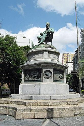 José de Alencar - Monument to José de Alencar in Rio de Janeiro, Brazil.