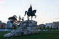 Monumento a Skanderbeg, Tirana, Albania, 2014-04-17, DD 19.JPG