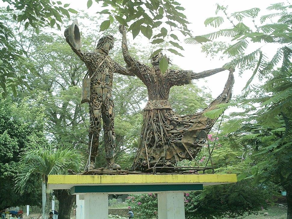 Monumento a la cumbia