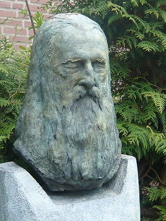 Moondog - Moondog tomb at the Central Cemetery in Münster, designed by Ernst Fuchs after the death mask