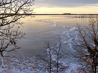 Waubay National Wildlife Refuge - Image: Morning Ice (7183560917)