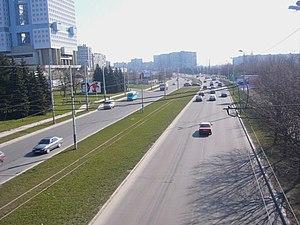 Moskovsky Prospekt in Kaliningrad.JPG